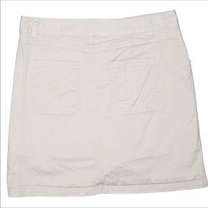 croft & barrow Shorts - Croft & Barrow White Embroidered Skort • Size 10P